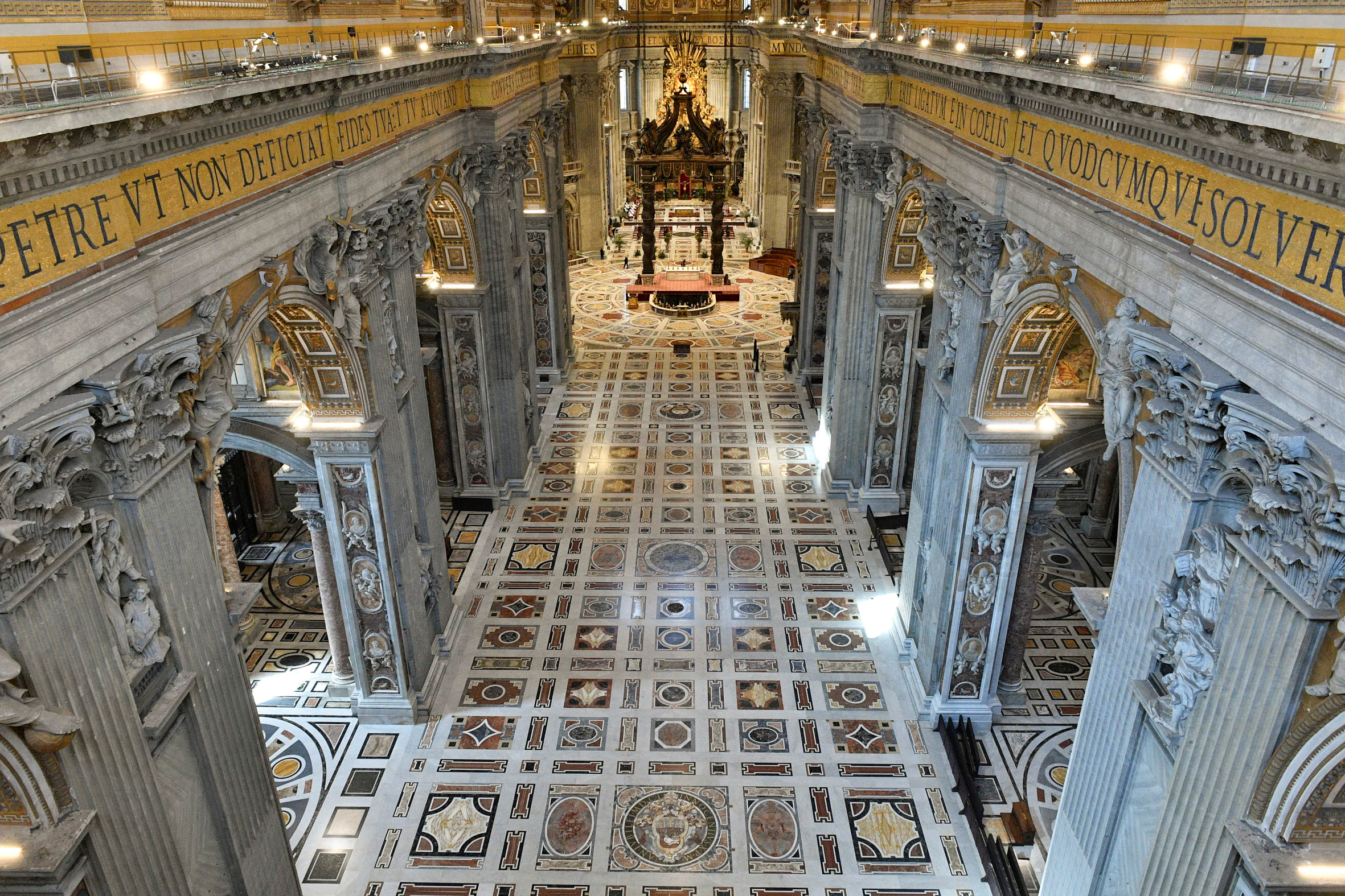 الفاتيكان فى قداس أحد الشعانين (1)