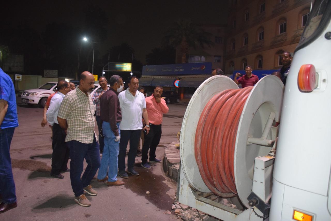 متابعة حظر التجوال بشوارع محافظة الاقصر