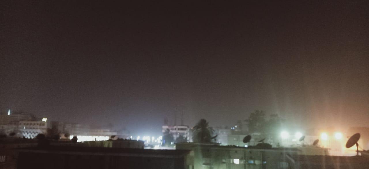 شبورة ترابية تضرب محافظة أسوان (4)
