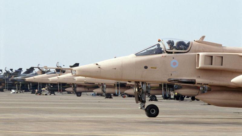 القوات البريطانية فى حرب الخليج