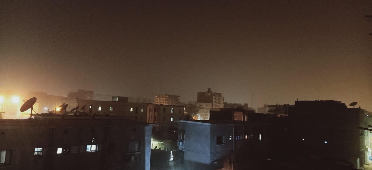 شبورة ترابية تضرب محافظة أسوان (5)