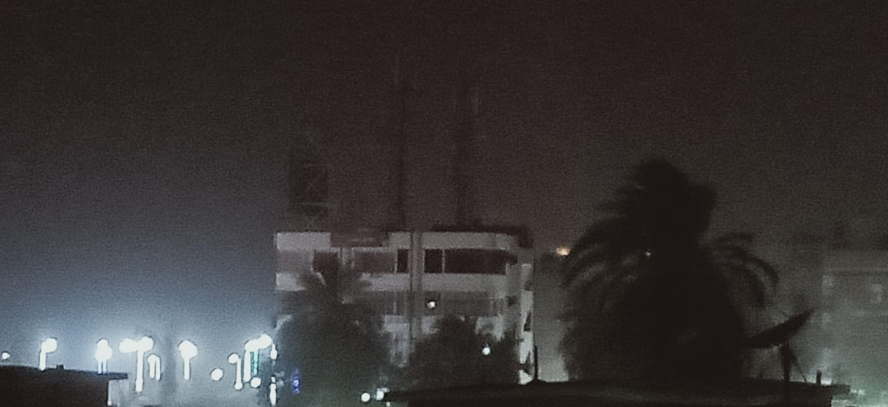 شبورة ترابية تضرب محافظة أسوان (3)