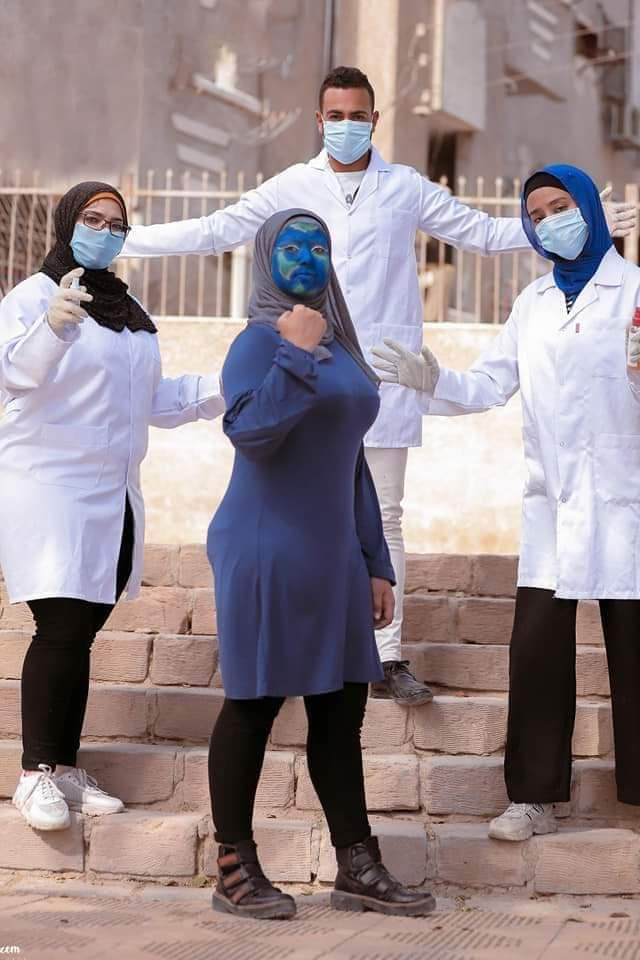 6 فوتوسيشن بقنا يكشف جهود الجيش الأبيض فى محاربة فيروس كورونا