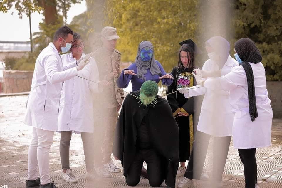 7 فوتوسيشن بقنا يكشف جهود الجيش الأبيض فى محاربة فيروس كورونا