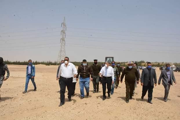 محافظ المنيا يقود حملة مكبرة لاسترداد أراضي الدولة (3)