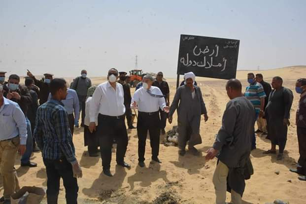 محافظ المنيا يقود حملة مكبرة لاسترداد أراضي الدولة (8)