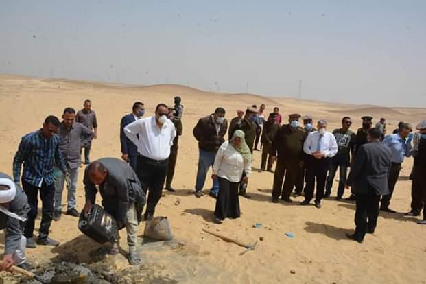 محافظ المنيا يقود حملة مكبرة لاسترداد أراضي الدولة (6)