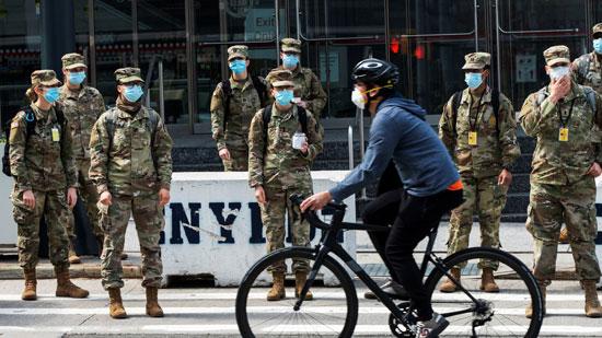 عناصر من الحرس الوطنى الأمريكي