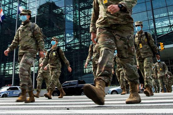 الحرس الوطنى الأمريكي ينتشر فى نيويورك