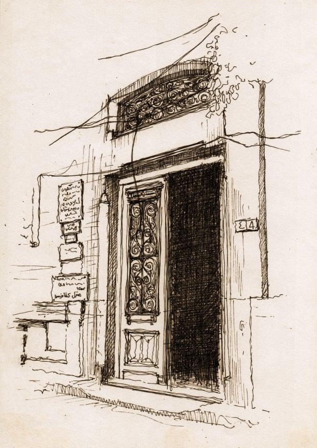 106750-مدخل-المبنى--الذى-عاش-فيه--الشاعر-اليوناني-قسطنطين-بي-كافافي