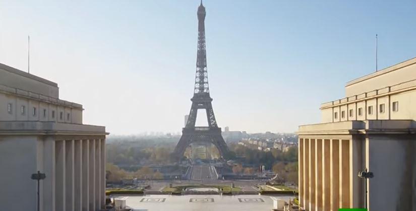 باريس مهجورة فى زمن كورونا  (4)
