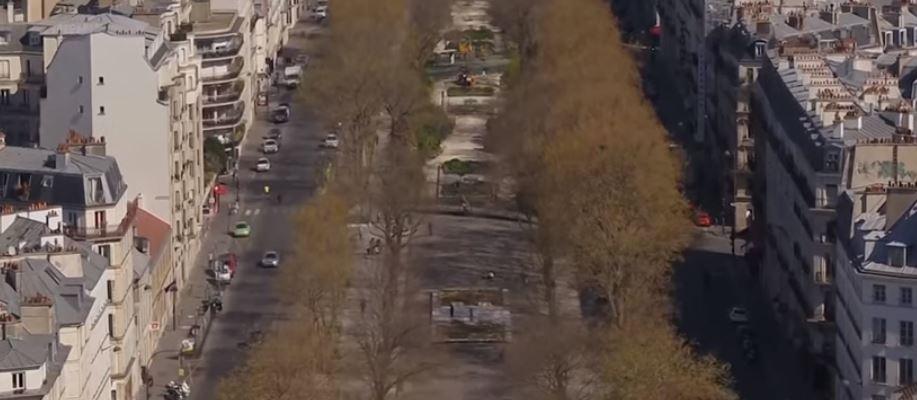 باريس مهجورة فى زمن كورونا  (2)