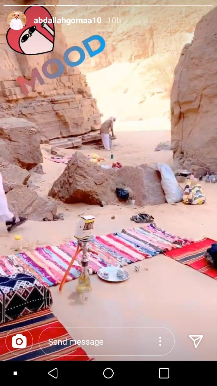 عبد الله جمعه في سيناء