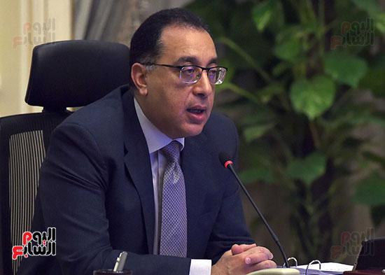 مجلس الوزراء عبر تقنية الفيديو كونفرانس (10)