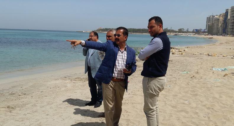 لأول مرة بالإسكندرية تخصيص شاطئ لذوى الهمم  (1)