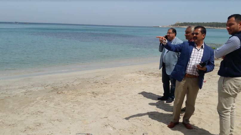 لأول مرة بالإسكندرية تخصيص شاطئ لذوى الهمم  (4)