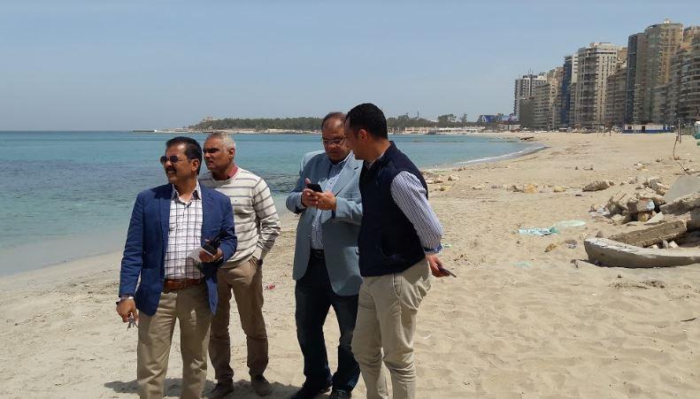 لأول مرة بالإسكندرية تخصيص شاطئ لذوى الهمم  (5)