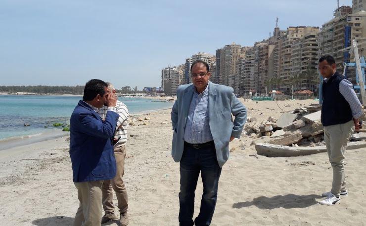 لأول مرة بالإسكندرية تخصيص شاطئ لذوى الهمم  (3)