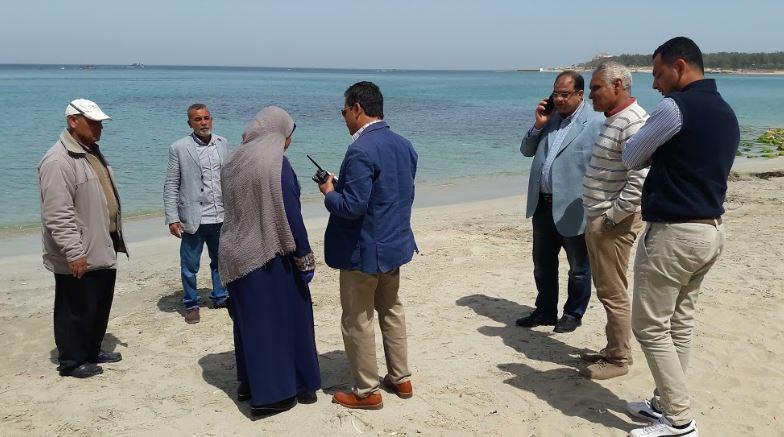 لأول مرة بالإسكندرية تخصيص شاطئ لذوى الهمم