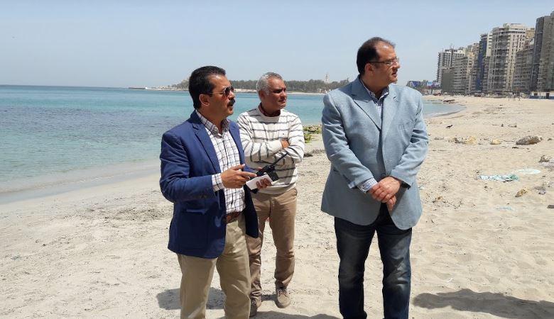لأول مرة بالإسكندرية تخصيص شاطئ لذوى الهمم  (2)