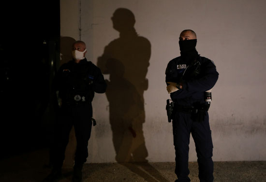 انتشار شرطى بمدينة نيس