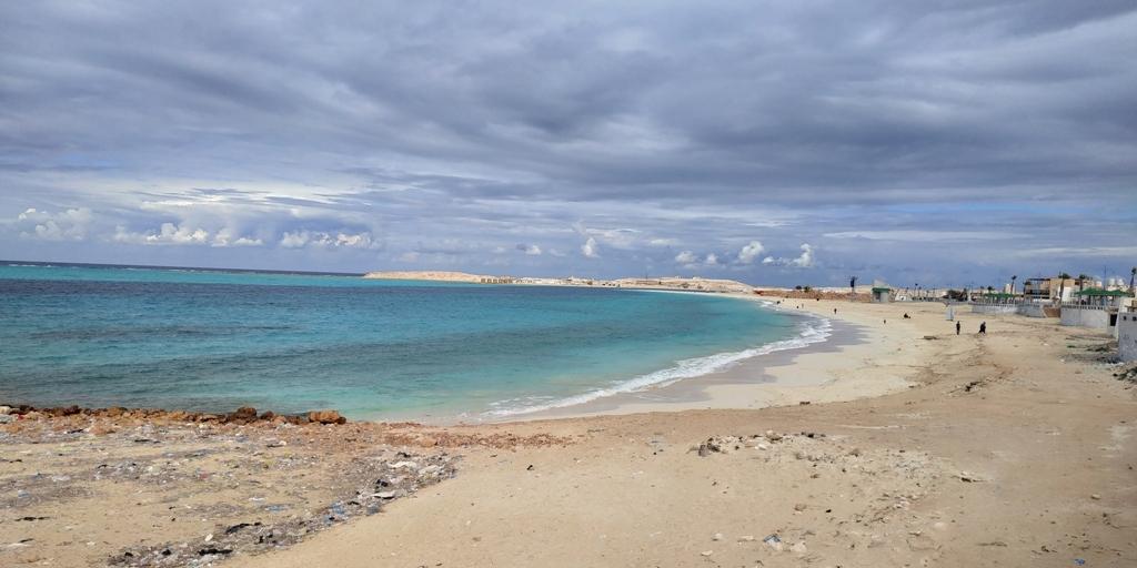 اغلاق شواطئ مطروح لمنع التجمعات لمواجهة كورونا