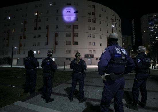 الشرطة الفرنسية بمدينة نيس