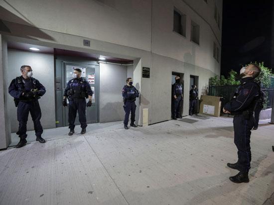 انتشار شرطى فى مدينة نيس