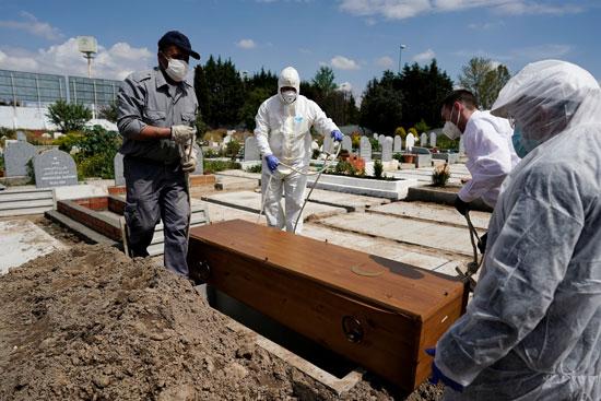 دفن جثمان فى اسبانيا
