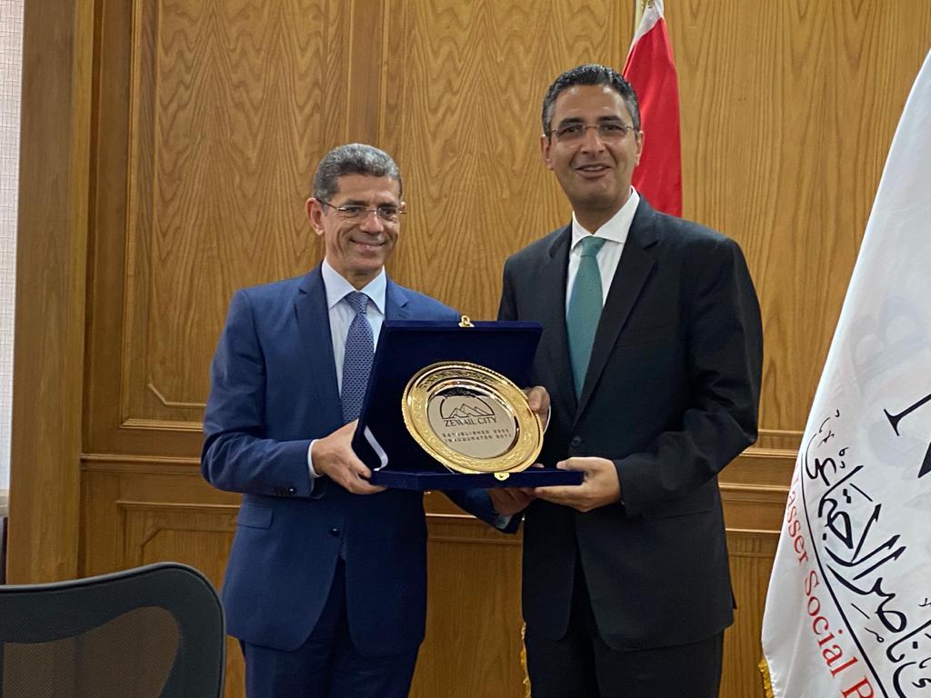 بروتوكول تعاون بين بنك ناصر ومدينة زويل (1)