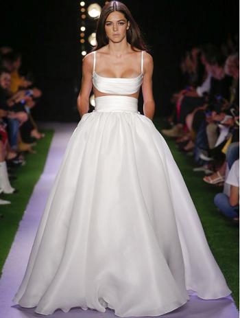 فستان زفاف براندون ماكسويل Brandon Maxwell