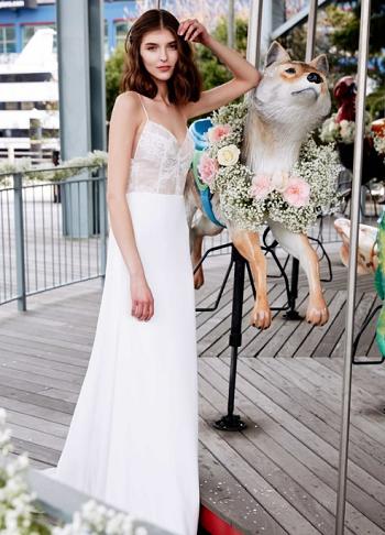 فستان زفاف  ليلا روز Lela Rose