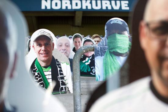 مشجعين مونشنجلادباخ فى المبارة المقبلة