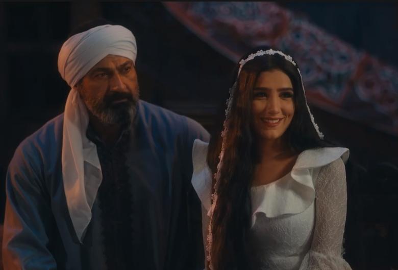 زواج حسن الجبالي وليل