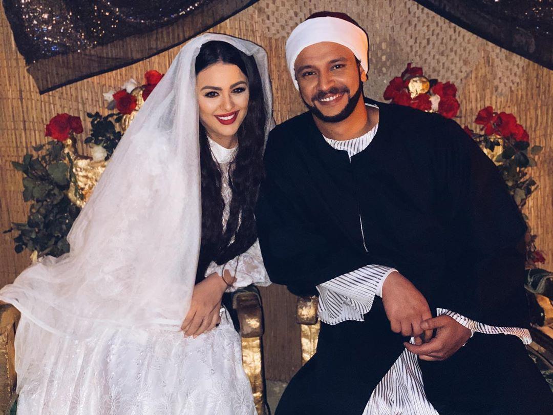 هنادى مهنى واحمد خالد صالح