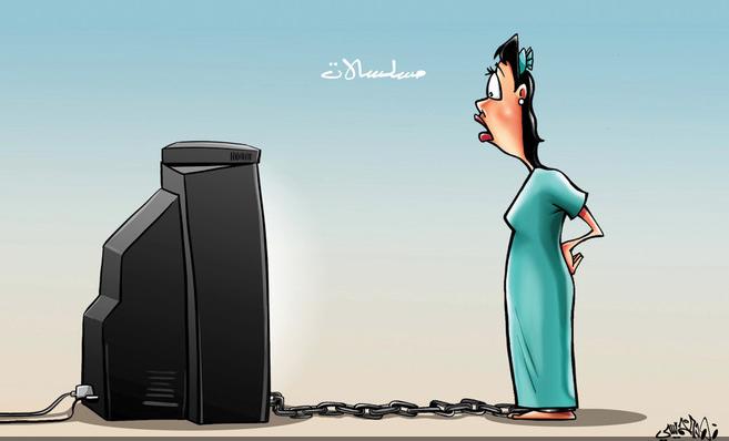 كاريكاتير صحيفة الاقتصادية السعودية