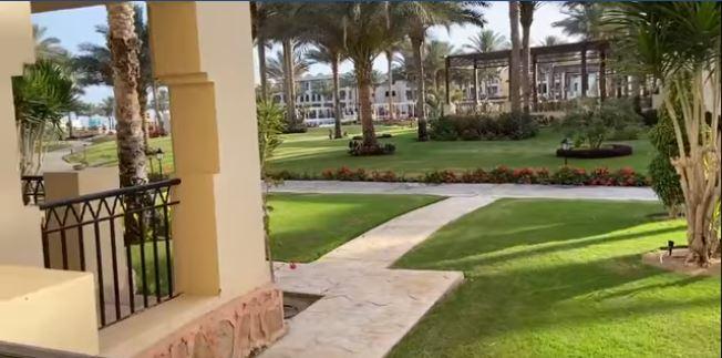 حديقة الفندق