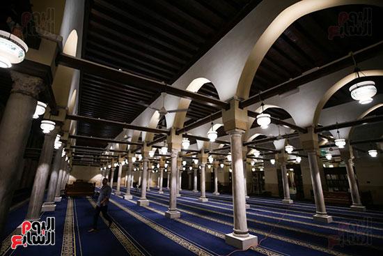أول صور من صلاة التراويح بالجامع الأزهر  (2)
