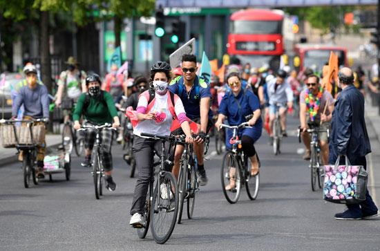 حملات للتشيجيع على ركوب الدراجات