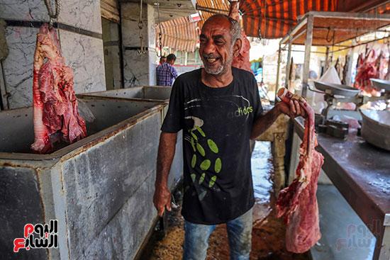 سوق اللحوم بالسيدة زينب