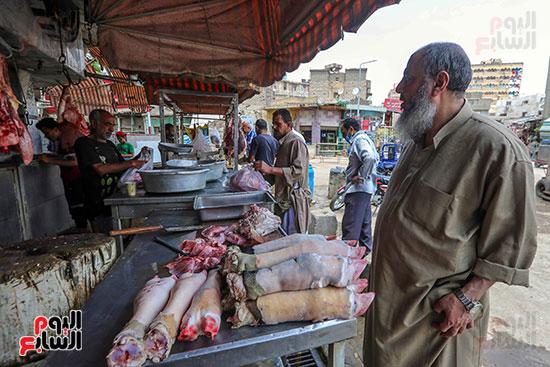 بيع وشراء فواكه اللحوم