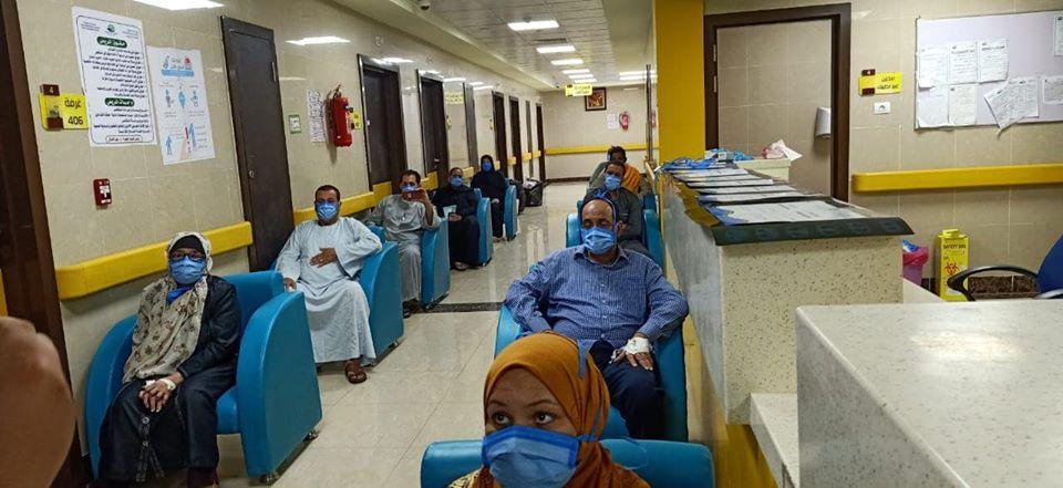 1 مستشفى إسنا للحجر الصحى تعلن خروج 21 حالة