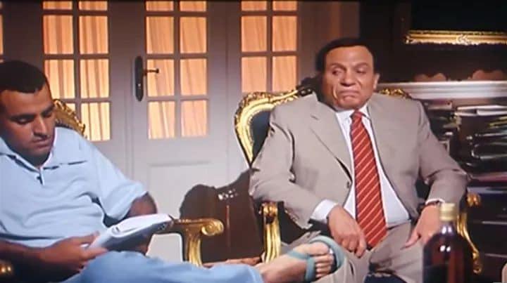 اسامة ابو العطار في فيلم السفارة في العمارة