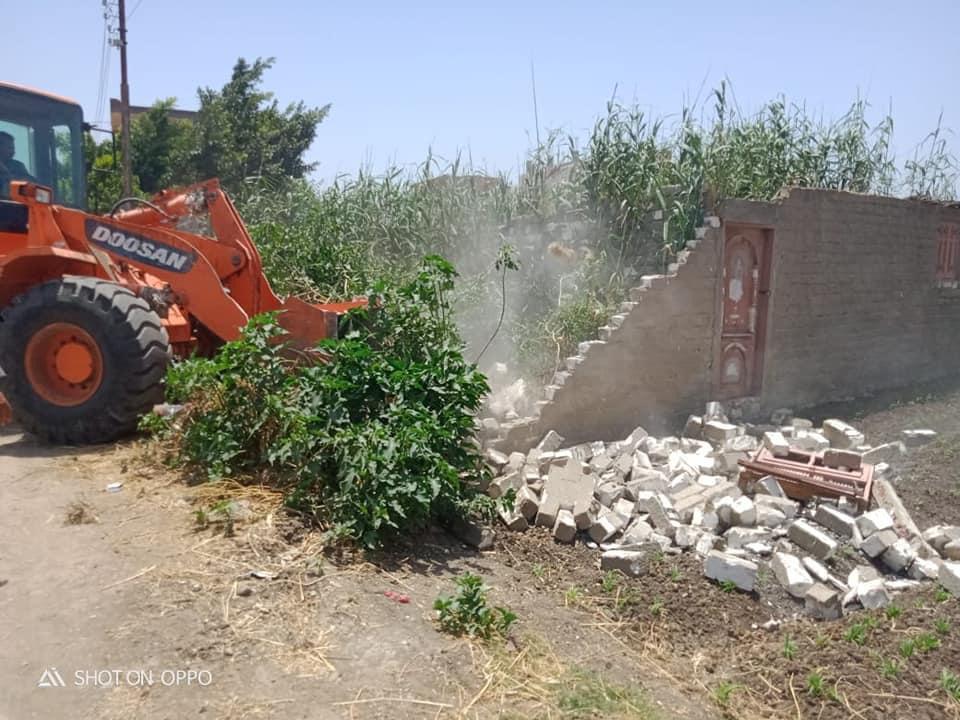 إزالة التعديات على الأراضى الزراعية (4)