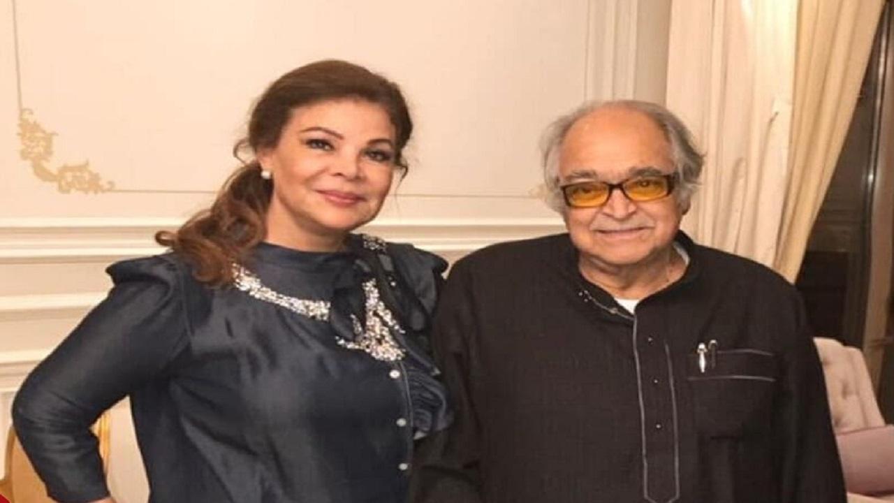 صفاء أبو السعود وزوجها الراحل صالح كامل