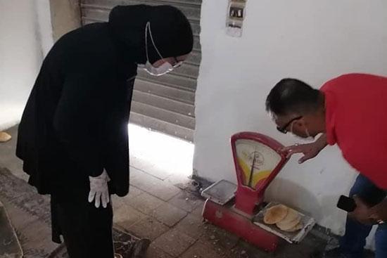 حملات تموين ونظافة على المخابز البلدية (1)
