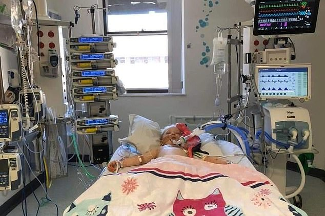 مدرس بريطاني ينتشر صورة لأبنته المريضة بـكاواساكي ليوجه رسالة إلى المسئولين.. اعرف القصة  (2)