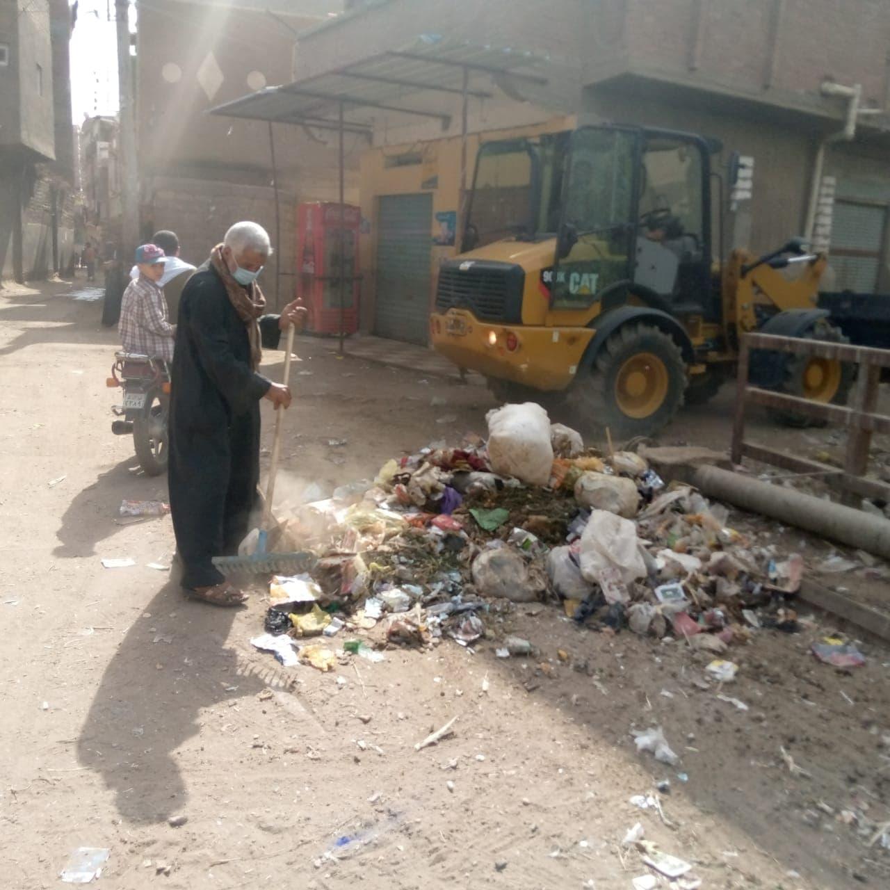حملات نظافة وتطهير ترع (15)