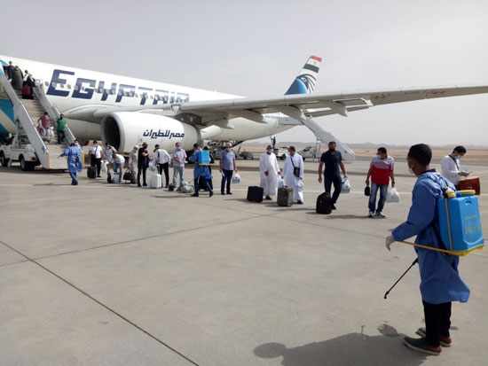 مطار مرسى علم الدولى (9)