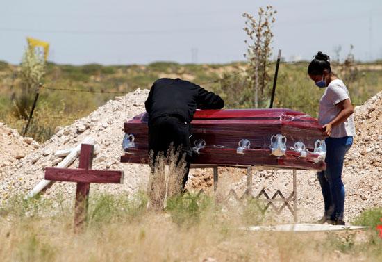 حضور محدود لعمية الدفن
